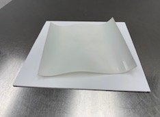 YSZ sample after firing without cover plates